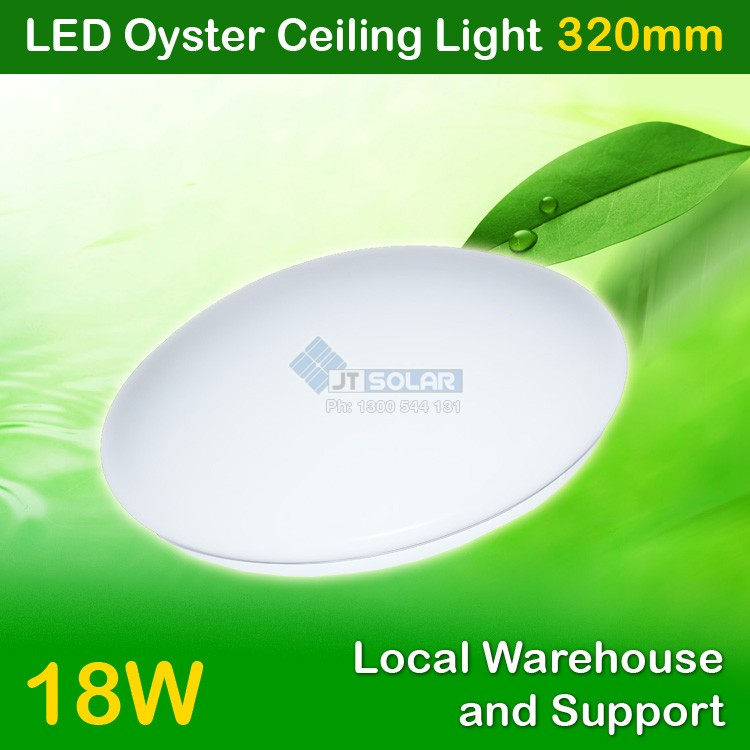 AU Approved Local Stocked 18W LED Oyster Ceiling Light - Sealed 330mm