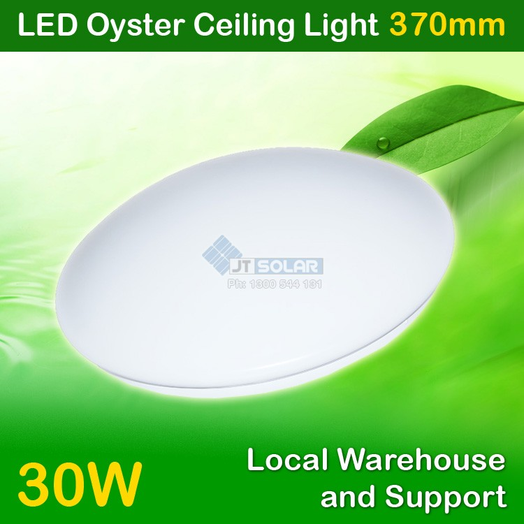 5 x AU Approved Local Stocked 30W LED Oyster Ceiling Light - 370mm IP20 Sealed