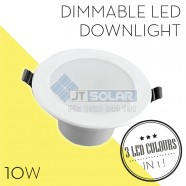 AU Approved Best Price 10W Dimmable LED Downlight 90-100mm Cutout - 3 in 1