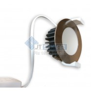 1-20 AU Approved Local Stocked 10W Dimmable LED Downlight Kit 70mm Cutout - Satin Chrome