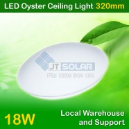 AU Approved Local Stocked 18W LED Oyster Ceiling Light - Sealed 320mm