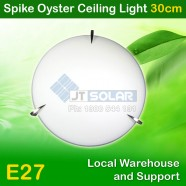 AU Approved Household E27 Spike Oyster Ceiling Light - 30cm
