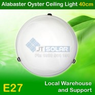Low-priced AU Approved Household E27 Alabaster Oyster Ceiling Light - 40cm