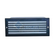 Lummax  Rectangular Aluminium Die-casting Grill Brick Light