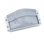 Outdoor Half Grill Brick Bulkhead Light