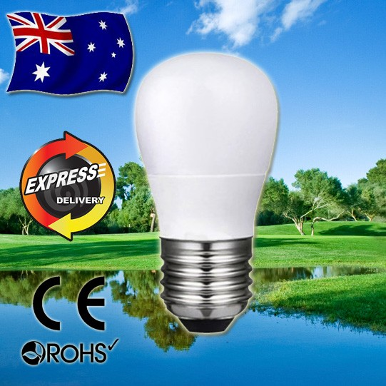 AKESI 5W LED Light Frost Globe Bulb - E27 Base