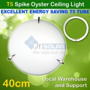 AU Approved T5 Energy Saving Tube Included Tri Spike Oyster Ceiling Light - 40cm