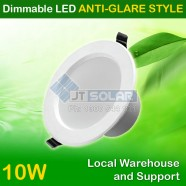 AU Approved Best Price 10W Dimmable LED Downlight 90-100mm Cutout -- Anti-glare Style