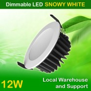 AU Approved Best Price 12W Dimmable LED Downlight Kit 90mm Cutout - White