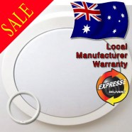 LUMMAX T5 Energy Saving Acrylic Ceiling Oyster - 330mm Diameter
